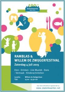 Ramblas/Willem de Zwijgerfestival