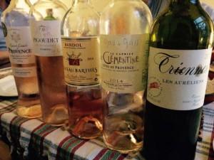 wijnen Provence foto
