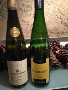 wijnen gewurztraminer