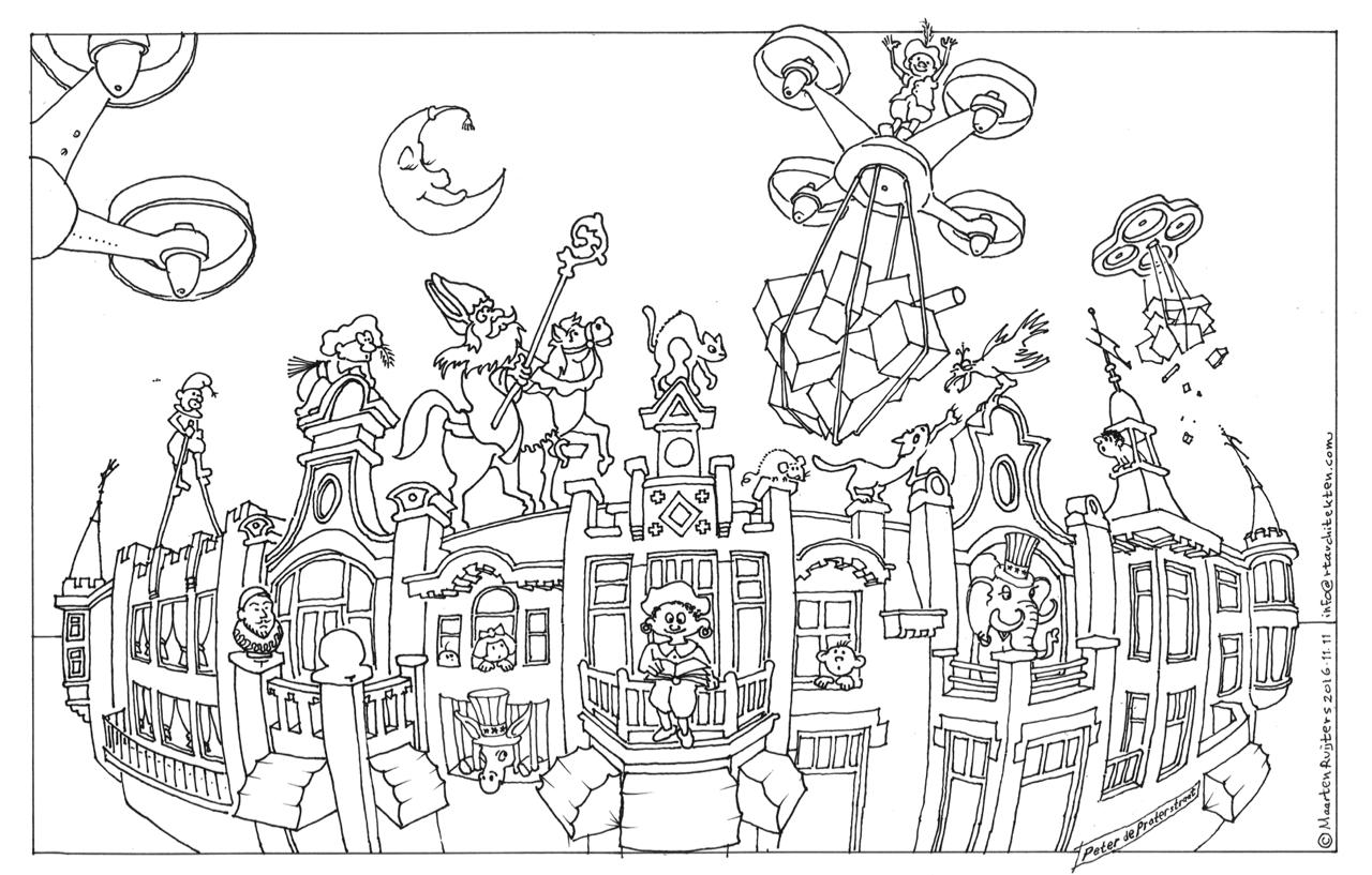 Sinterklaas Kleurplaat Voor En Prijs Maak De Sint Blij En Doe Mee Aan De Kleurwedstrijd En Quiz